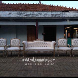 Kursi Sofa Pengantin Ukir