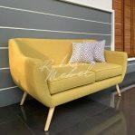 Cantik, Kursi Sofa Retro Minimalis